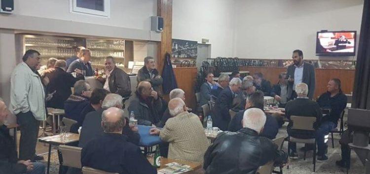 Συνεχίζονται οι επισκέψεις σε κοινότητες του υποψηφίου δημάρχου Φλώρινας Βασίλη Γιαννάκη (pics)