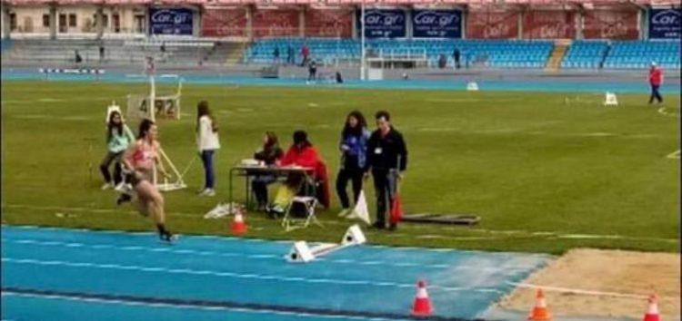Η Κυριακή Παπούλκα στους Πανελλήνιους Σχολικούς Αγώνες Στίβου Ελλάδας – Κύπρου