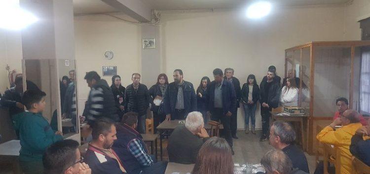 Σε Τριπόταμο, Παπαγιάννη, Ιτιά και Νεοχωράκι ο υποψήφιος δήμαρχος Φλώρινας Βασίλης Γιαννάκης (pics)
