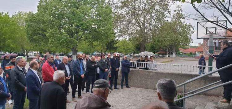 Σε Άγιο Βαρθολομαίο, Λεπτοκαρυά και Φλάμπουρο ο υποψήφιος δήμαρχος Φλώρινας Στάθης Κωνσταντινίδης