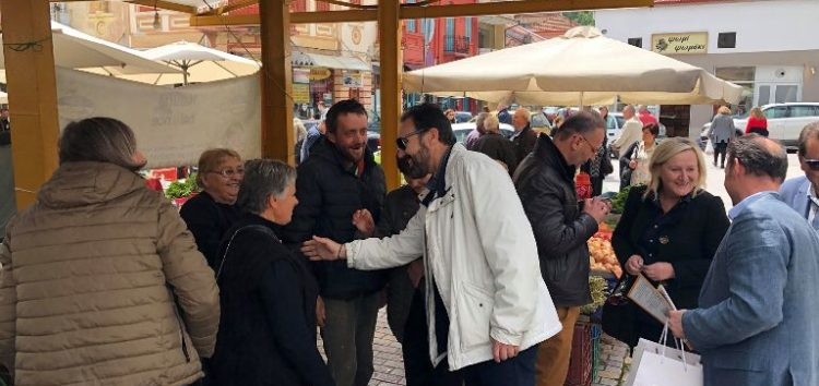 Τη λαϊκή αγορά επισκέφτηκε ο υποψήφιος δήμαρχος Φλώρινας Βασίλης Γιαννάκης (pics)