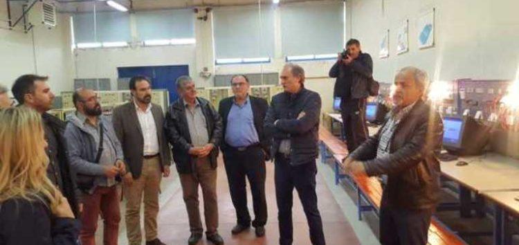 Στην ΕΠΑΣ Μαθητείας ΟΑΕΔ και στη λαϊκή αγορά Μελίτης ο Βασίλης Γιαννάκης (pics)