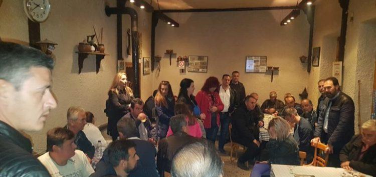 Σε Κ. Βεύη, Λόφους, Α. Βεύη και Σιταριά ο υποψήφιος δήμαρχος Φλώρινας Βασίλης Γιαννάκης (pics)
