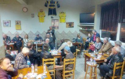 Συνεχίζει τις επισκέψεις σε κοινότητες ο Στάθης Κωνσταντινίδης