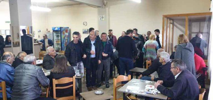 Σε Τριπόταμο, Βεύη, Λόφους και Σιταριά ο υποψήφιος δήμαρχος Φλώρινας Στάθης Κωνσταντινίδης (pics)