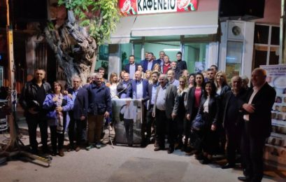 Η ομιλία του υποψηφίου δημάρχου Φλώρινας Στάθη Κωνσταντινίδη στη Μελίτη (pics)