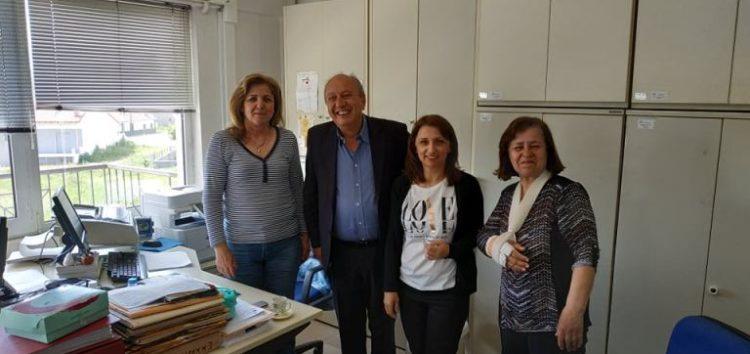 Σε δημόσιες υπηρεσίες ο υποψήφιος δήμαρχος Φλώρινας Στάθης Κωνσταντινίδης (pics)