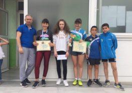 Τρία μετάλλια για τις Σάρισες στους τελικούς των αναπτυξιακών