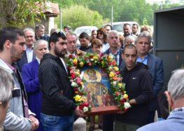 Η ιερά πανήγυρις ανακομιδής των λειψάνων του Αγίου Νικολάου στον Σκοπό (pics)