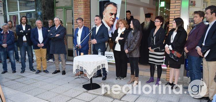 Τα εγκαίνια του εκλογικού κέντρου του συνδυασμού «Ανατροπή – Δημιουργία» στη Φλώρινα (video, pics)