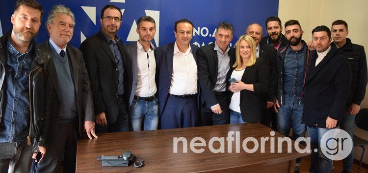 Στη Φλώρινα ο ευρωβουλευτής Θοδωρής Ζαγοράκης (video, pics)