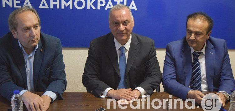Στη Φλώρινα ο υποψήφιος ευρωβουλευτής της Ν.Δ. Μανώλης Κεφαλογιάννης (video, pics)