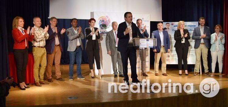 Γιώργος Κασαπίδης: «Όλοι μαζί για την αλλαγή πορείας στη Δυτική Μακεδονία» (video, pics)