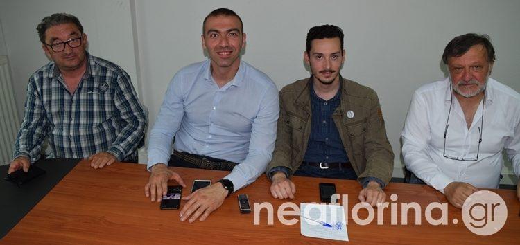 Στη Φλώρινα οι υποψήφιοι ευρωβουλευτές του ΣΥΡΙΖΑ Αλέξανδρος Νικολαΐδης και Στέργιος Καλπάκης (video)