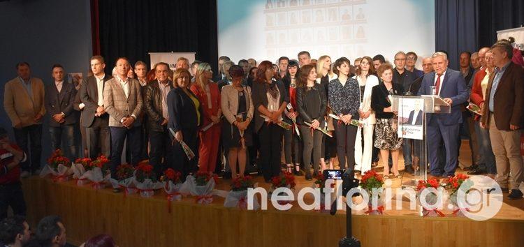 Το πρόγραμμα και το ψηφοδέλτιο του συνδυασμού του παρουσίασε ο Στέφανος Μπίρος (video, pics)