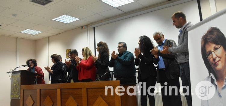 Τους υποψήφιους και το πρόγραμμά της παρουσίασε στη Φλώρινα η Γεωργία Ζεμπιλιάδου (video, pics)