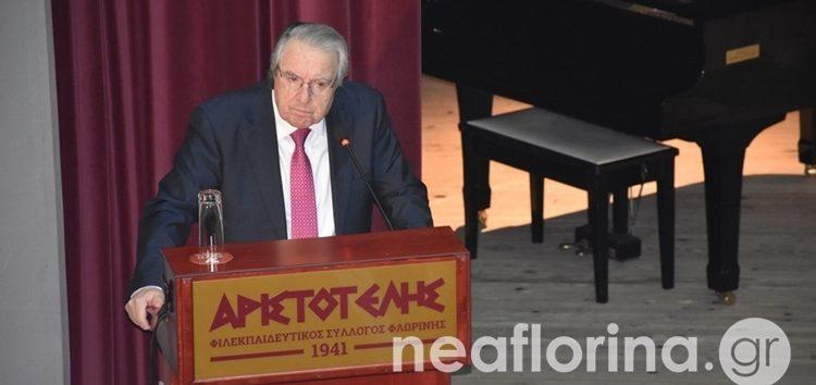 Γιώργος Μπαμπινιώτης: «Τραγικό εθνικό λάθος η Συμφωνία των Πρεσπών» (video, pics)