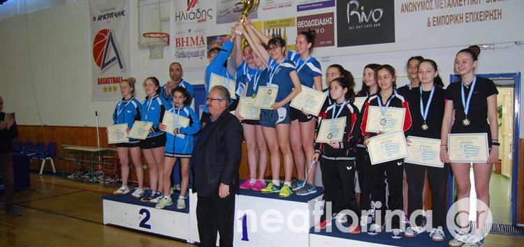 Πρωταθλήτριες Ελλάδας στο ομαδικό κορασίδων οι Σάρισες (pics)