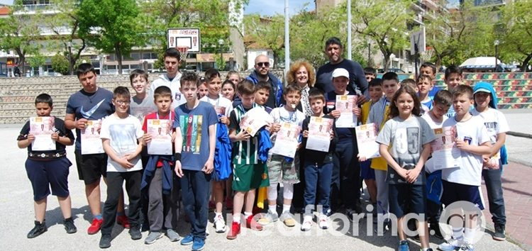 Γέμισε παιδιά το Νέο Πάρκο της Φλώρινας για την διοργάνωση basket 3 on 3 της Ε.Ο.Κ. (pics)