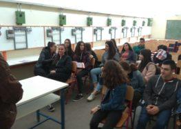 Επίσκεψη του 2ου λυκείου Φλώρινας στο 1ο Ε.Κ. και 1ο ΕΠΑ.Λ. Φλώρινας (pics)