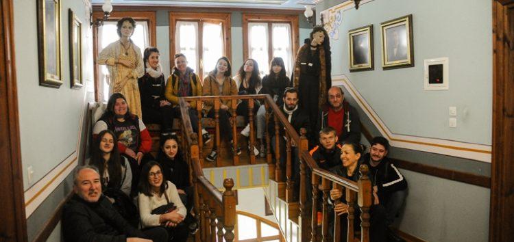 Το Μουσείο Χρυσικών του Νυμφαίου επισκέφτηκαν φοιτητές της Σχολής Καλών Τεχνών Φλώρινας (pics)