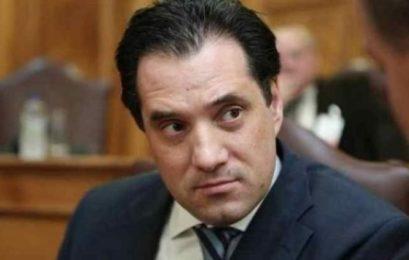 Στους Ανάργυρους ο αντιπρόεδρος της Ν.Δ. Άδωνις Γεωργιάδης
