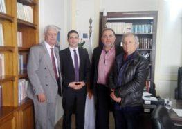 Μέλη του Επιμελητηρίου Φλώρινας στο Προξενείο της Κύπρου