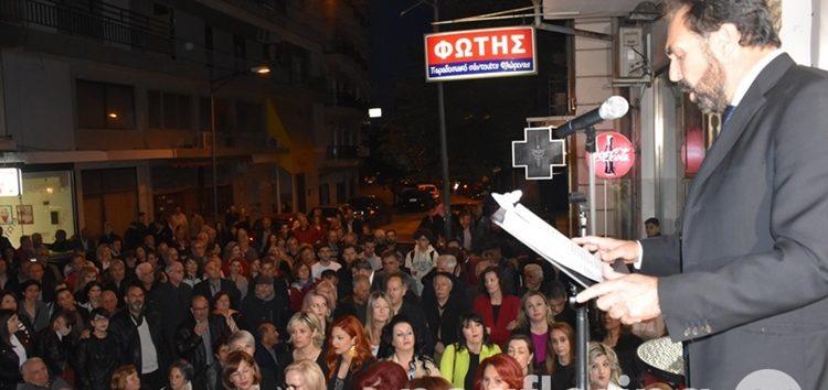 Η κεντρική ομιλία του υποψηφίου δημάρχου Φλώρινας Βασίλη Γιαννάκη (video, pics)