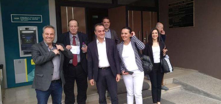 Πρώτος ο Καρυπίδης κατέθεσε το ψηφοδέλτιο του Περιφερειακού Συνδυασμού «Ανατροπή Δημιουργία» στο Πρωτοδικείο Κοζάνης
