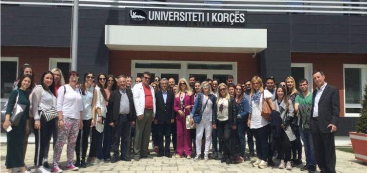 Οι φοιτητές του Μεταπτυχιακού προγράμματος «Επιστήμες της Αγωγής με Νέες Τεχνολογίες» του ΠΔΜ επισκέφτηκαν το Πανεπιστήμιο Fan Noli στην Κορυτσά