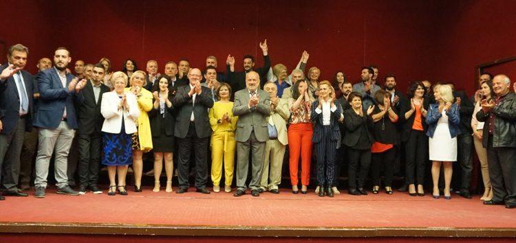 Το ψηφοδέλτιο του συνδυασμού του παρουσίασε ο υποψήφιος δήμαρχος Αμυνταίου Κώστας Θεοδωρίδης