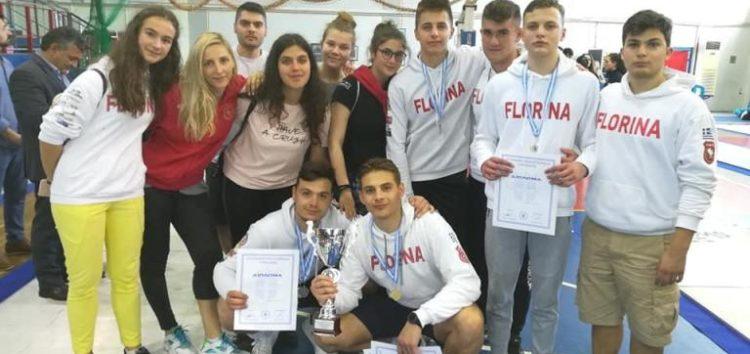 Πρωταθλήτρια Ελλάδος η ομάδα ξίφους μονομαχίας του ΟΞΙΦ!