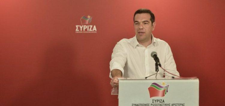 Πρόωρες εκλογές ανακοίνωσε ο Τσίπρας μετά τη βαριά ήττα