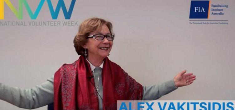 Μεγάλο Ερευνητικό Ινστιτούτο της Αυστραλίας τίμησε την Αλεξάνδρα Βακιτσίδου