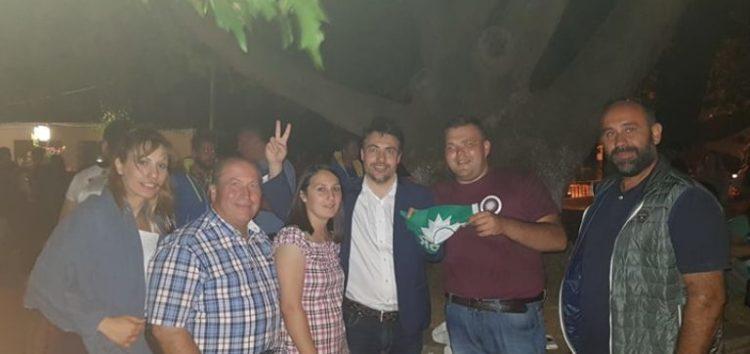 Σε Βεγόρα, Φιλώτα και Αετό ο Στέλιος Μαυρίδης μαζί με τους συνυποψηφίους του
