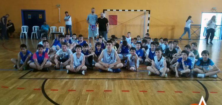 Παρουσία του παίκτη του ΠΑΟΚ Θοδωρή Ζάρα η γιορτή λήξης της ακαδημίας basket του Αριστοτέλη – Τιμήθηκε ο Κωνσταντίνος Μεσσήνης