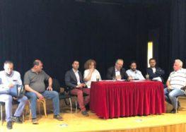 Συνάντηση του δημάρχου Φλώρινας Γιάννη Βοσκόπουλου με τους επιτυχόντες του Προγράμματος Κοινωφελούς Εργασίας του δήμου