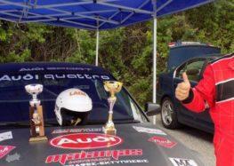 1ος ο Τάσος Χατζηχρήστος και η ομάδα του Chatzichrisros Rally Team Florina