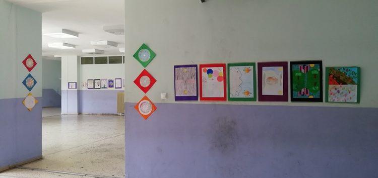 Έκθεση ζωγραφικής στο γυμνάσιο Βεύης (pics)