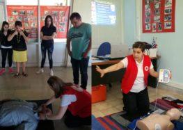 Ολοκλήρωση εκπαιδεύσεων ομάδων πολιτών στις πρώτες Βοήθειες από το Περιφερειακό Τμήμα Ε.Ε.Σ. Φλώρινας