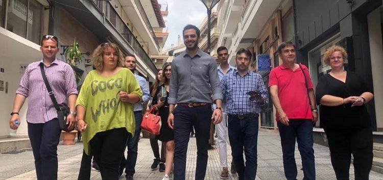 Ο υποψήφιος βουλευτής Στέλιος Μαυρίδης για την επίσκεψη στη Φλώρινα του γραμματέα του ΚΙΝ.ΑΛ.