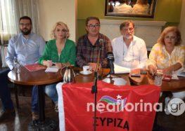 Παρουσίαση του ψηφοδελτίου του ΣΥΡΙΖΑ στην Π.Ε. Φλώρινας (video)