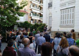 Τα εγκαίνια της έκθεσης ζωγραφικής του Αντώνη Μπαλάκα (pics)