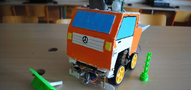 1η θέση για το Πειραματικό Δημοτικό Σχολείο Φλώρινας στον Πανελλήνιο Διαγωνισμό Ρομποτικής Ανοιχτών Τεχνολογιών στην Εκπαίδευση