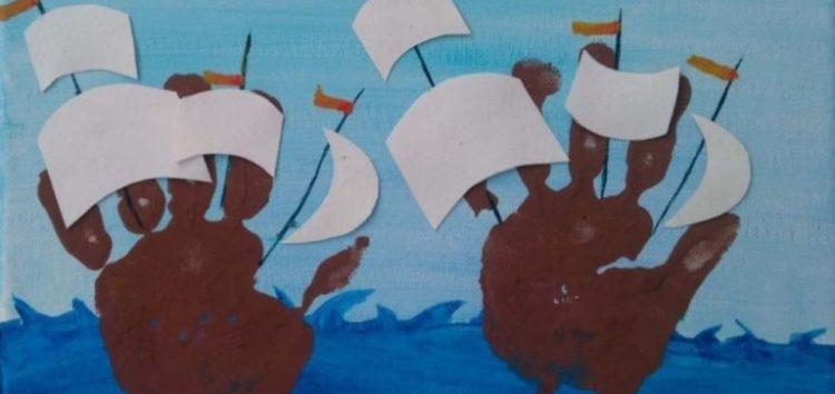 Παιδική έκθεση ζωγραφικής από το Ειδικό Δημοτικό Σχολείο Φλώρινας