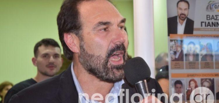 Οι πρώτες δηλώσεις του νέου δημάρχου Φλώρινας Βασίλη Γιαννάκη (video)