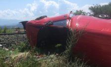 Τρένο συγκρούστηκε με αυτοκίνητο στο Ξινό Νερό