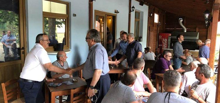 Κοινότητες του πρώην δήμου Περάσματος επισκέφτηκε ο υποψήφιος βουλευτής Γιάννης Βοσκόπουλος (pics)