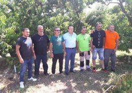 Τις πληγείσες περιοχές του δήμου Αμυνταίου επισκέφτηκε ο βουλευτής Γιάννης Αντωνιάδης (pics)