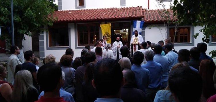 Πανηγυρίζει ο Ιερός Ναός Προφήτη Ηλία Μελίτης (pics)